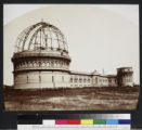 Yerkes Observatory under construction, looking northeast.