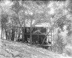 Schneider's cabin on Mount Wilson.