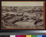 View of a Yuma Indian village in...