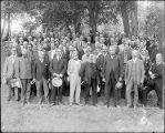 Group photograph of the attendees of the fourth conference of the International union for...