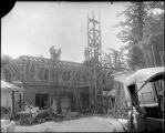 Construction of Monastery annex, Mount Wilson Observatory.
