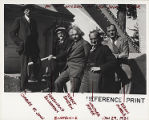 Charles St. John, Ferdinand Ellerman, Albert Einstein, Walther Mayer and Edwin Hubble, Mount...