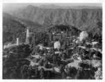 Aerial view of Mount Wilson Observatory.