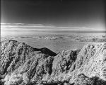 Daylight infrared view of Pasadena and Los Angeles basin, as seen from Mount Wilson.