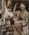 Chinese woman and child, Old...
