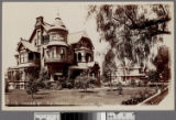 Adams St., L.A. homes in winter,...