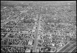 Aerial view of Pasadena.