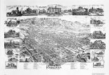 Map of Pasadena, 1893.