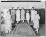 F.C. Nash and Company fashion show, 145-155 East Colorado, Pasadena. 1930.