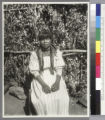 Yokut girl, Tule River Reservation.