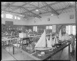 Displays of models and collections, Polytechnic Elementary School, 1030 East California, Pasadena....