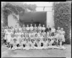 1939 graduating class, Polytechnic Elementary School, 1030 East California, Pasadena. June 14,...