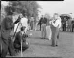 Frank L. Shaw, dedication of the Griffith Park Golf Club and Course, Los Angeles. 1937.