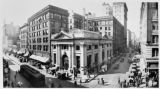 Main & Fourth Streets; Merchant's Nat'l. Bank, circa 1915.