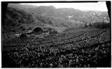 Easter Service, Hollywood Bowl, 2301 North Highland, Los Angeles. 1932.