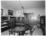 Dining room, Patton residence, San Marino.