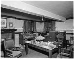 Patton's office, San Marino residence.