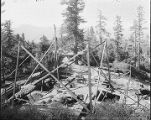 150-foot towear at Mount Wilson, under construction.