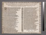 A memorable epitaph, made vpon the lamentable complaint of the people of England, for the death of...