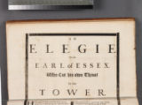An elegie on the Earl of Essex. Who cut his own throat in the Tower. July 13. 1683
