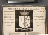 Minerva's check to the author, attempting to write an elegy upon the Right Honourable and much to...