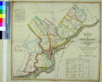 Map of Philadelphia County. Constructed by virtue of an Act of the Legislature of Pennsylvania...