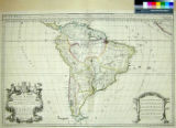 South America Divided into its Principall Parts where are distinguished the severall States which...