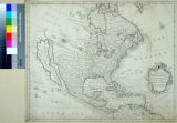Map of North America With the European Settlements & whatever else is remarkable in the West...