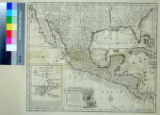 New and Accurate Map of Mexico or New Spain together with California New Mexico &c. Drawn from...