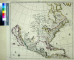 North America Divided into its III Principall Parts 1st English Part viz. English Empire...