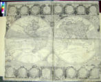 A Map of the World or Terrestrial Globe, in Two Planispheres, laid down from the Observations of...
