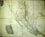 New Map of Mexico and Adjacent Provinces compiled from Original Documents by A. Arrowsmith.