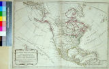 North America, with the West Indies, wherein are Distinguished the United States, and All The...