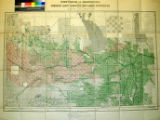 Map of part of the Province of Manitoba, shewing Dominion Lands surveyed, and lands disposed of.