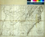 Map of the Southern States of America, Comprehending Maryland; Virginia; Kentucky; Territory Sth....