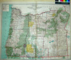 State of Oregon : compiled chiefly from the official records of the General Land Office with...