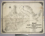 Map of East Los Angeles and Vicinity the Property of Messrs. J. S. Griffin, J. G. Downey & H....