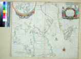 Chart of the North Part of America, describing the Sea Coast of Groenland, Davies Streights,...