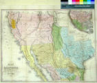 Map of California New Mexico Texas &c.