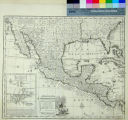 A New and Accurate Map of Mexico or New Spain together with California New Mexico &c.