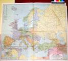 Europe and the Near East / Compiled and Drawn in the Cartographic Section of the National...