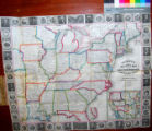 Phelps's National map of the United States, a Travellers Guide : embracing the principal rail...