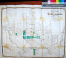 Entwistle's Handy Map of Washington and Vicinity: Showing public buildings, churches, hotels,...