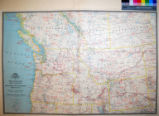 A Map of Northwestern United States and Neighboring Canadian Provinces : Prepared in the...