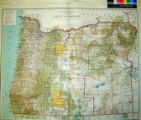 State of Oregon : compiled from the official records of the General Land Office and other sources.