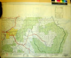 Oregon Transportation Map : highways, railroads, canals, air lines and dredged channels / Original...