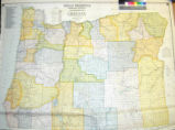 Heald-Menerey's geographical, commercial and recreational map : Oregon / Ralph P. Heald, Compiler.