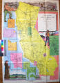A map of the marked historical sites of California : compiled from the official registrations of...