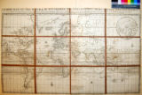 A New Map of the World according to Wrights alias Mercators Projection &c.; Drawn from the...