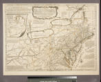 A general map of the middle British Colonies, in America : viz. Virginia, Maryland, Delaware,...